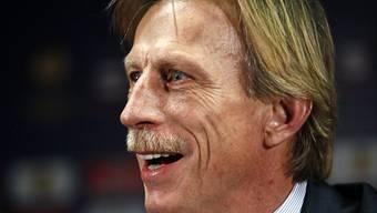 Der deutsche Trainer Christoph Daum folgt bei der rumänischen Nationalmannschaft auf Anghel Iordanescu