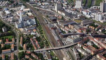 Verdichtung oder Bestand wahren: Das Lysbüchel-Areal, eines der grossen Basler Entwicklungsgebiete.