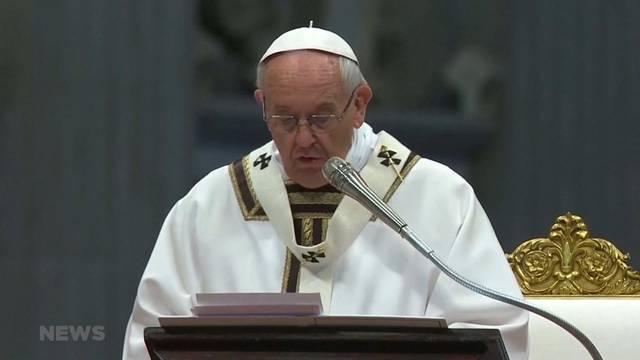 Papst zu Besuch in Genf