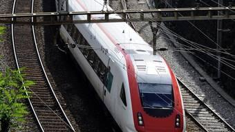 Die SBB-Linie war wegen eines Unfalls vorübergehend unterbrochen (Symbolbild)