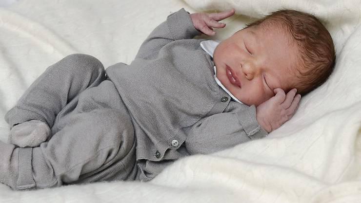 Jetzt hat der Kleine einen Namen: Schwedens jüngster Prinz heisst Nicolas (Archiv)