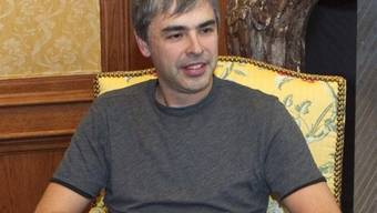 Übernimmt erneut das Ruder bei Google: Larry Page (Archiv)