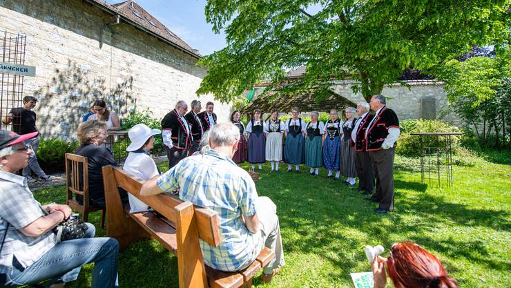 Chloschtival im Kapuzinerkloster Solothurn, im Bild: Jodlerclub Seerose