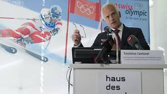 Der Bundesrat unterstützt die Schweizer Olympia-Kandidatur.
