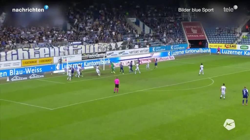 Matchbericht FCL gegen Lugano