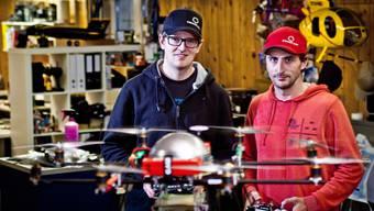 Mit Drohnen die Filmbranche aufmischen: Zu Besuch bei Dedicam in Meiringen