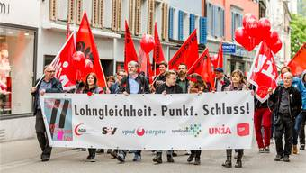 Vor einem Jahr fokussierten die Gewerkschaften auf Lohngleichheit, nun heisst das Motto der 1.-Mai-Veranstaltungen «Mehr zum Leben». Sandra Ardizzone/Archiv