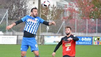 Im zweiten Einsatz nach seinem Transfer vom FC Dulliken schoss Hazir Zenuni (links) den FC Olten zum Sieg.