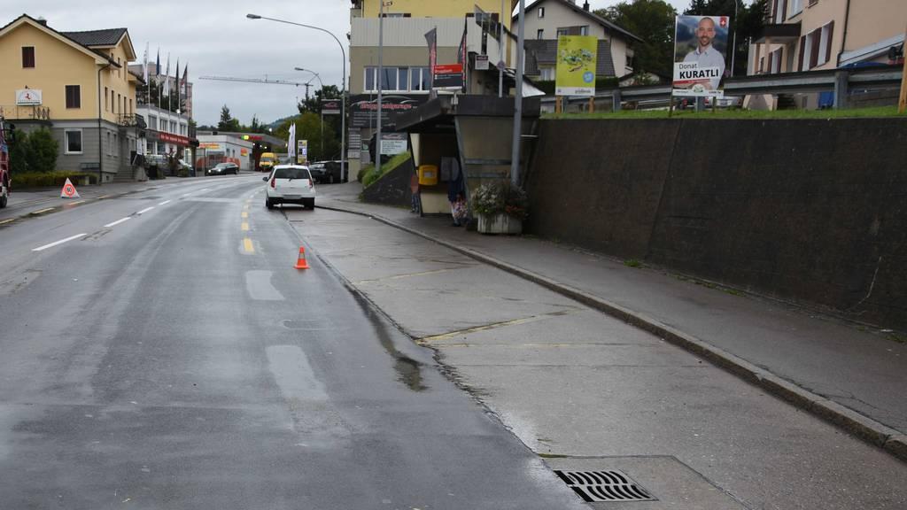 Unfall in Wittenbach