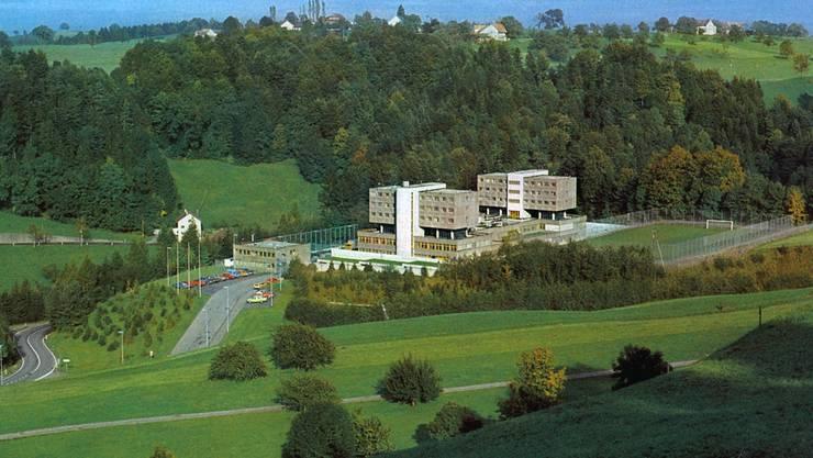 Auch in der Strafanstalt Bostadel in Menzingen gibt es Insassen, die Familie haben.
