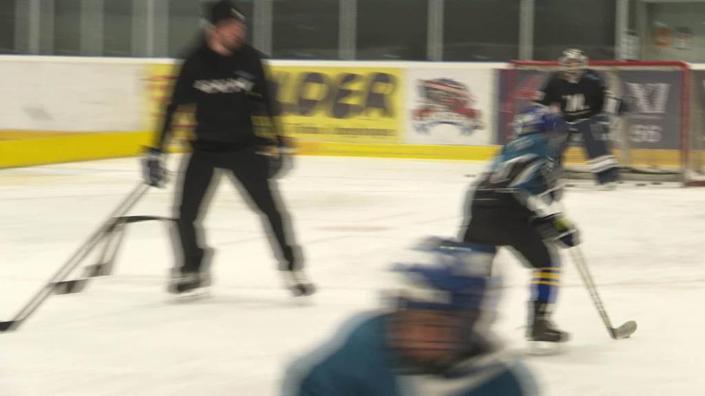 NHL-Star: Timo Meier trainiert den Eishockey-Nachwuchs