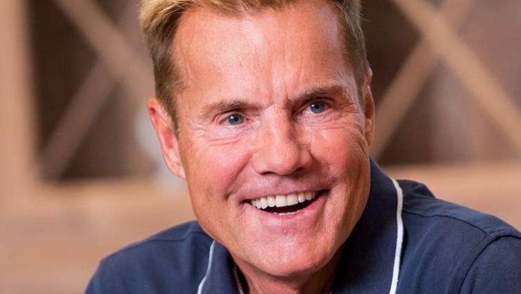 Fit wie ein Turnschuh: Der 65-jährige Musikproduzent und TV-Juror Dieter Bohlen.
