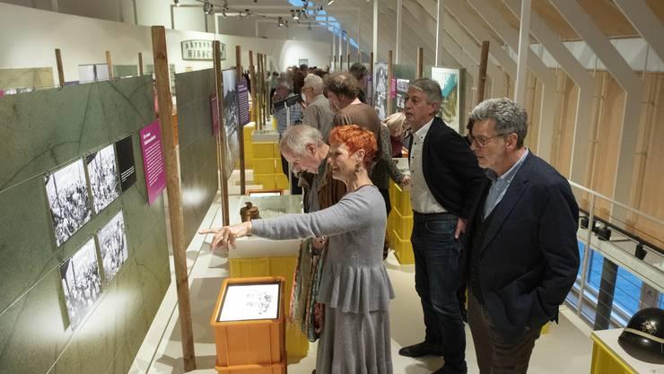 Ob Fotografien, Objekte oder interaktive Stationen: Die Sonderausstellung «Der Rebberg von Baden» bietet Vielfalt.
