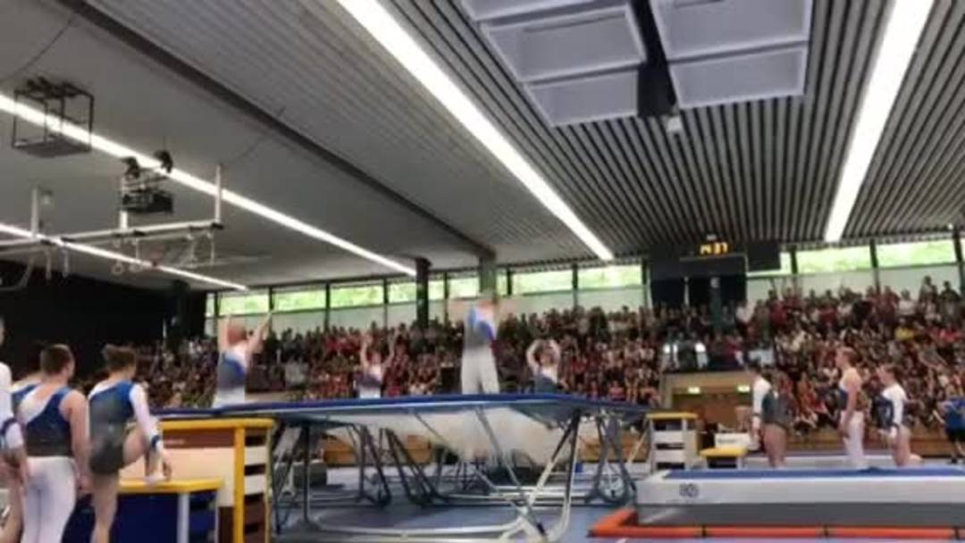 Eidgenössisches Turnfest, 22.6.2019, STV Möriken-Wildegg, Trampolin