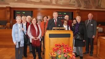 Die Reformierte Synode Bern-Jura-Solothurn wird zurzeit vom Grenchner Polizeichef Robert Gerber präsidiert. Das az Grenchner Tagblatt begleitete Gerber an einem Sessionstag.