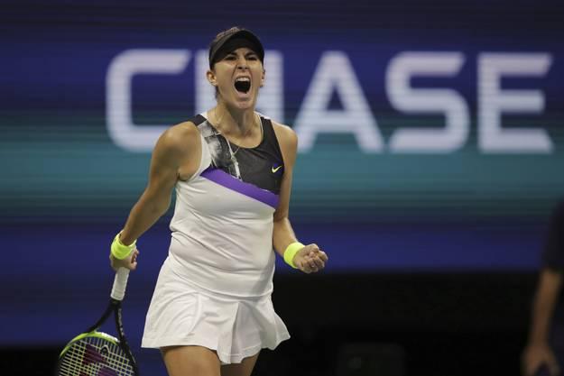 2019 erreichte Belinda Bencic bei den US Open erstmals in ihrer Karriere die Halbfinals eines Grand-Slam-Turniers.