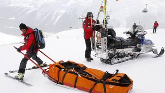Wintersportler verletzen sich immer schwerer (Symbolbild)