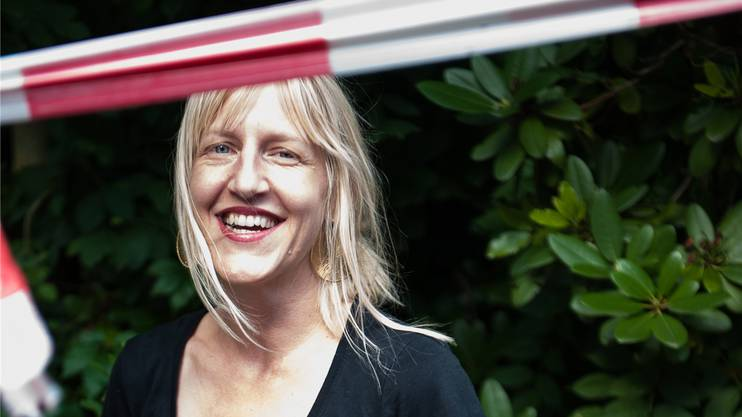 Eliane Zgraggen ist für die Festgestaltung zuständig. KATRIN HAUNREITER