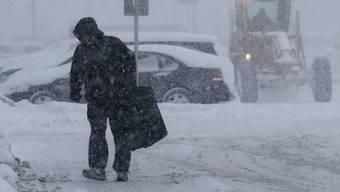 Winter in Chicago - da hört der Spass auf