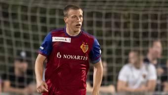 Emil Bergström in seinem ersten Spiel für den FCB.