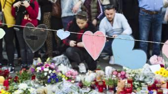 Trauermarsch für den 7-jährigen Ilias, der im März 2019 von einer 75-jährigen Frau erstochen wurde.