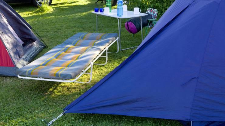Trotz des schönen Sommerwetters bleiben die Gäste auf den Zeltplätzen aus. (Archiv)