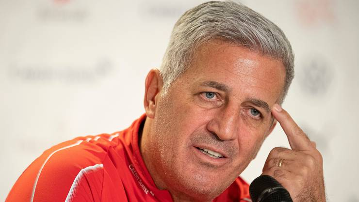 Der Schweizer Nationaltrainer Vladimir Petkovic.