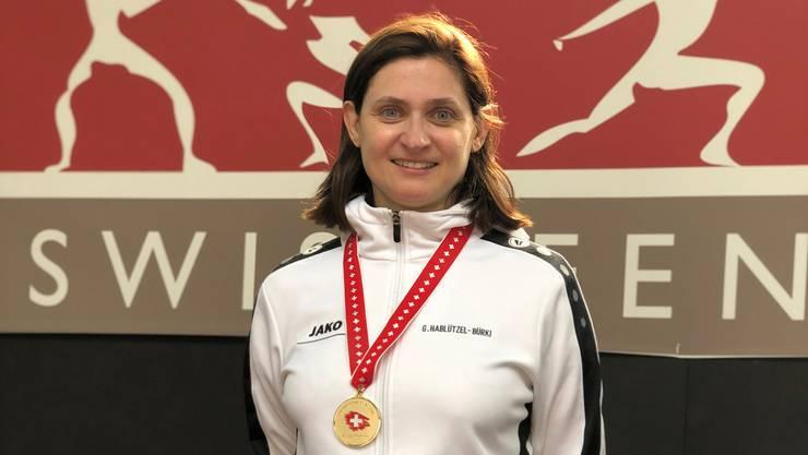 Gianna Hablützel-Bürki holt ihren 21. Schweizer-Meister-Titel.