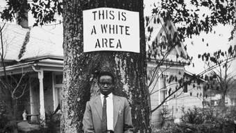 Ein vertrautes Bild vor 1964, als die Rassentrennung in den USA noch Gesetz war.