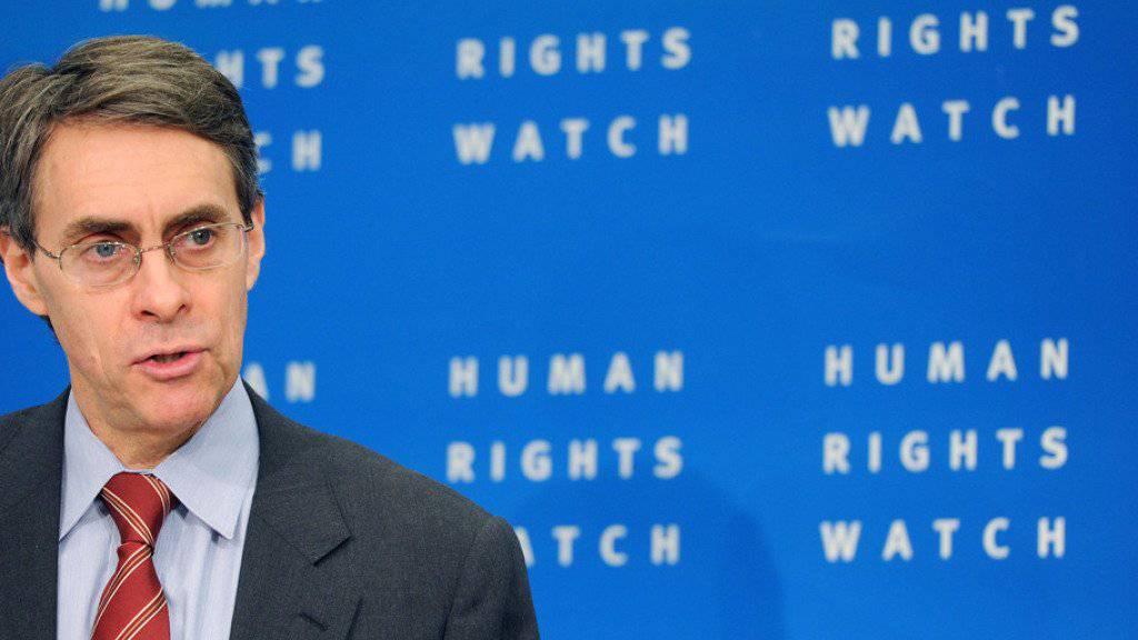 """HRW-Exekutivdirektor Kenneth Roth bezeichnet populistische Bewegungen als wohl """"grösste Gefahr für die Demokratien des Westens"""". (Archivbild)"""