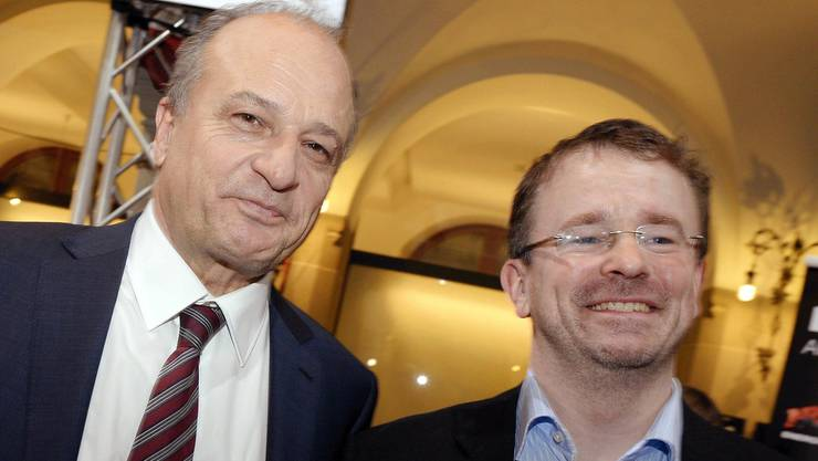 Noch ist unklar, wann genau die beiden neuen Stadträte Filippo Leutenegger (FDP, links) und Raphael Golta (SP, rechts) ihr neues Amt in Angriff nehmen werden.