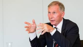FCA-Präsident Alfred Schmid sagt: «Wer seriös wirtschaftet, der verkraftet einen Abstieg.»
