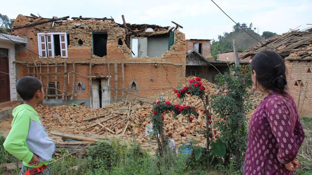 Erneut schweres Erdbeben mit Toten in Nepal