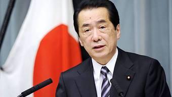 Der japanische Premierminister Naoto Kan