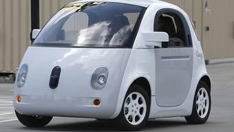 So sieht das selbstfahrende Auto von Google aus. (Archiv)