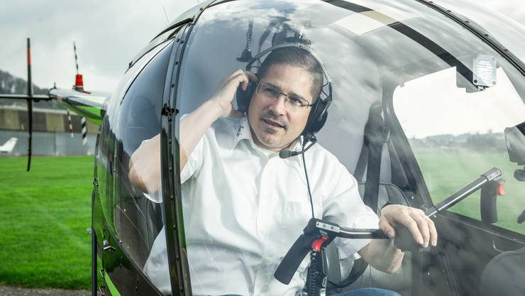 Mario Lang stammt aus einer flugbegeisterten Familie, er selber hat die Fliegerei erst später für sich entdeckt