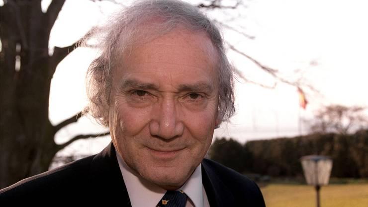 Der langjährige Tagesschau-Sprecher Léon Huber ist tot. (Archiv)