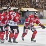 Das Team Canada wurde zum Abschluss der Vorrunde am Spengler Cup von den Nürnberg Ice Tigers nicht gefordert