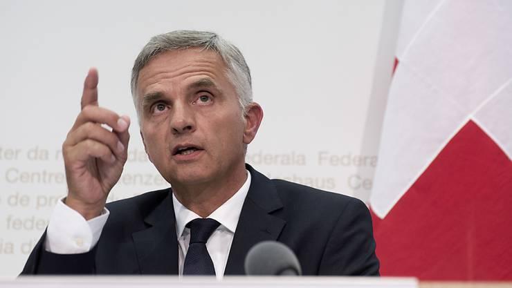 2025 soll es die Todesstrafe in keinem Land der Welt mehr geben: Das ist das Ziel von Aussenminister Didier Burkhalter. (Archiv)
