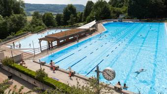 Das Schwimmbad Obersiggenthal.