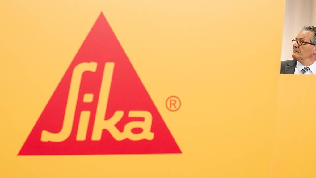 Der Sika-Konzern legt einmal mehr ein Rekordergebnis vor. (Archivbild)