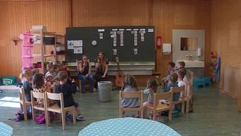 In Kölliken ist eine neue Kindergartenklasse gegründet worden, die im Gemeindehaus im 3. Stock einquartiert ist.