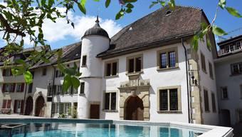 Das Stadtmuseum Brugg im ehemaligen Zeughaus beherbergt mit dem Stäblisaal ein einzigartiges Bijou.