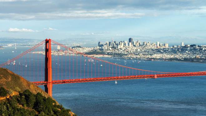 Die Golden Gate Bridge – das Wahrzeichen von San Francisco. Foto: Thinkstock