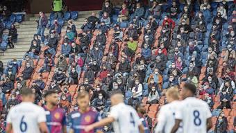 Bald nicht mehr möglich? Knapp 10'000 Zuschauer besuchten das Super-League-Spiel Basel gegen Luzern.