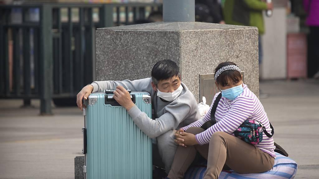 China hat am Donnerstag erneut lediglich Coronavirus-Neuinfektionen gemeldet, die auf Reisende aus dem Ausland zurückzuführen sind.