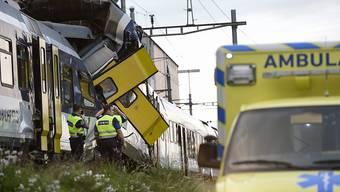 Beim Zugunglück kam der Lokführer des entgegenkommenden Zuges ums Leben. (Archivbild)