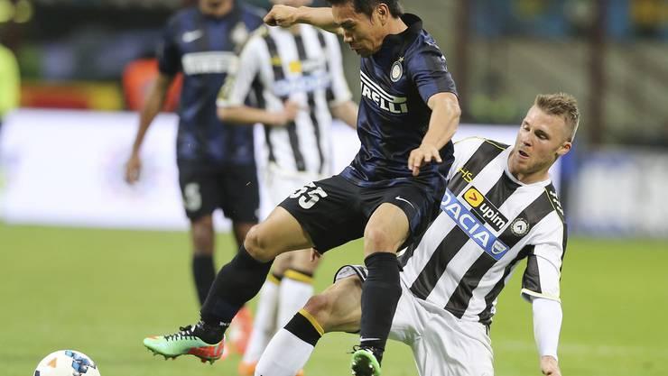 Ex-Aarau Profi Silvan Widmer soll vor einem Wechsel zur AC Milan stehen.