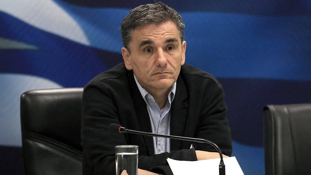 Nach Angabe des griechischen Finanzministers Taskalotos ist es zwischen der griechischen Regierung und den Gläubigern zu einer Einigung gekommen. (Archivbild)