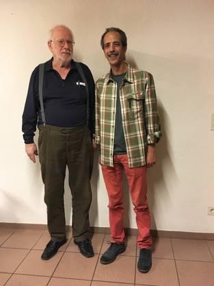 Otto Felber (links) und Atef Nahali